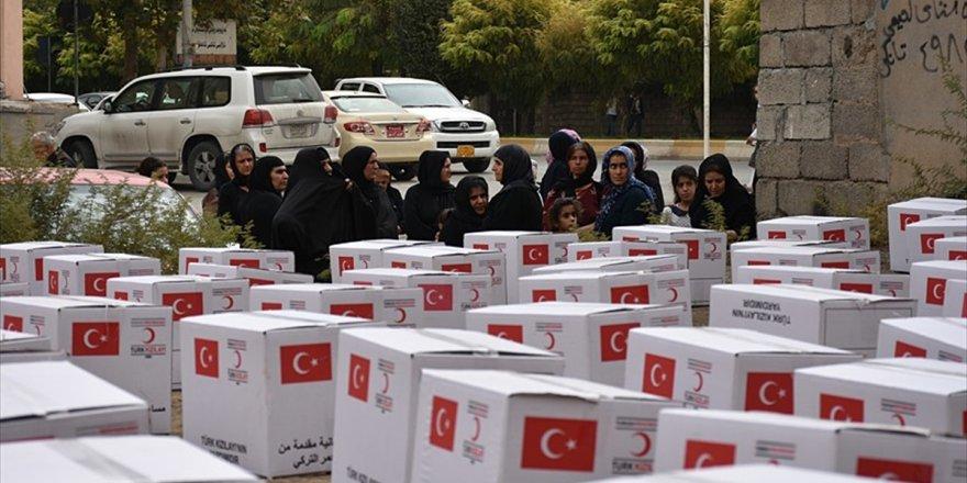 Türk Kızılayı'ndan Irak'ta 100 Aileye Yardım