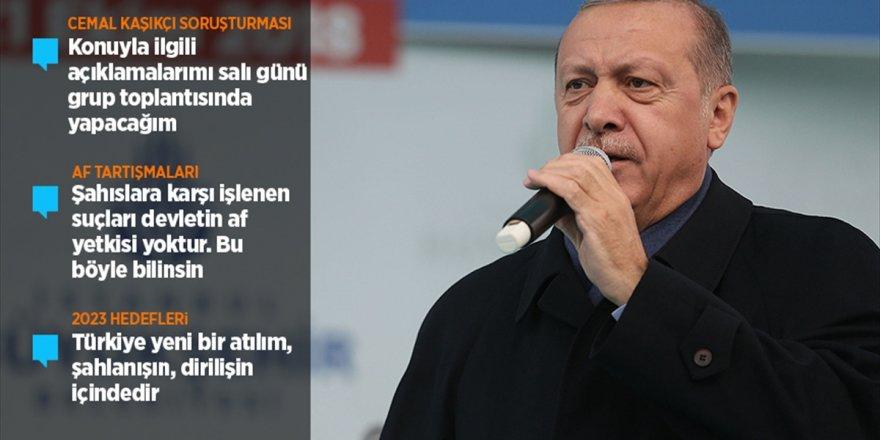 Cumhurbaşkanı Erdoğan'dan Kaşıkçı Soruşturmasına İlişkin Açıklama