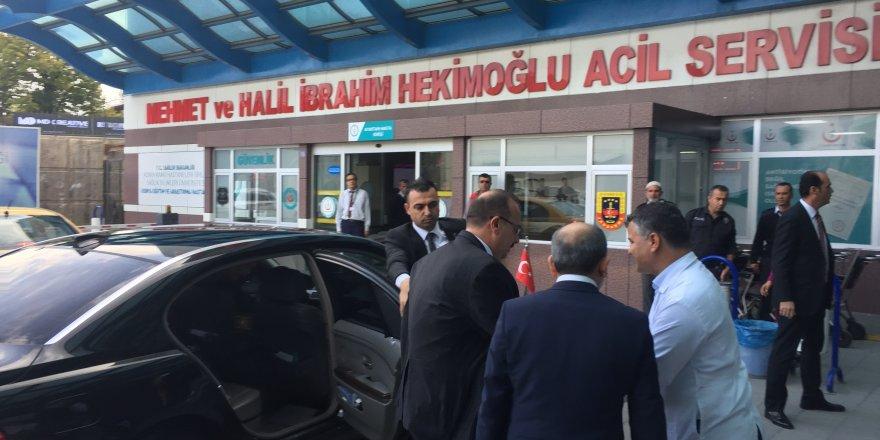 Vali Canbolat: Başkan Mehmet Oğuz'un sağlık durumu iyi