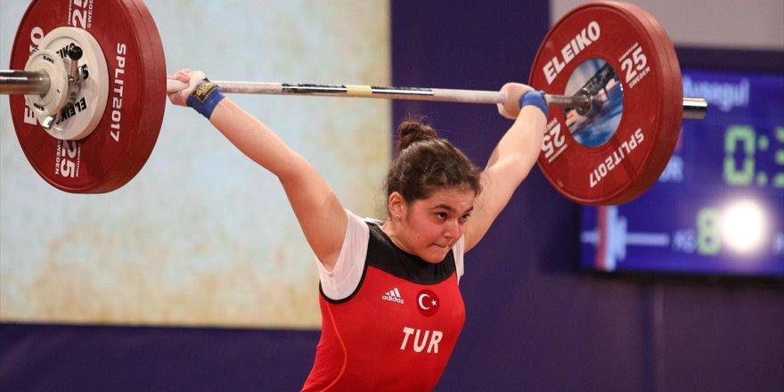 Avrupa Halter Şampiyonası'nda Altın Madalya