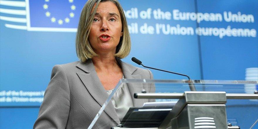 Ab Komiseri Mogherini: Ab'nin Tepkileri Suudi Arabistan'ın Atacağı Adımlara Bağlı