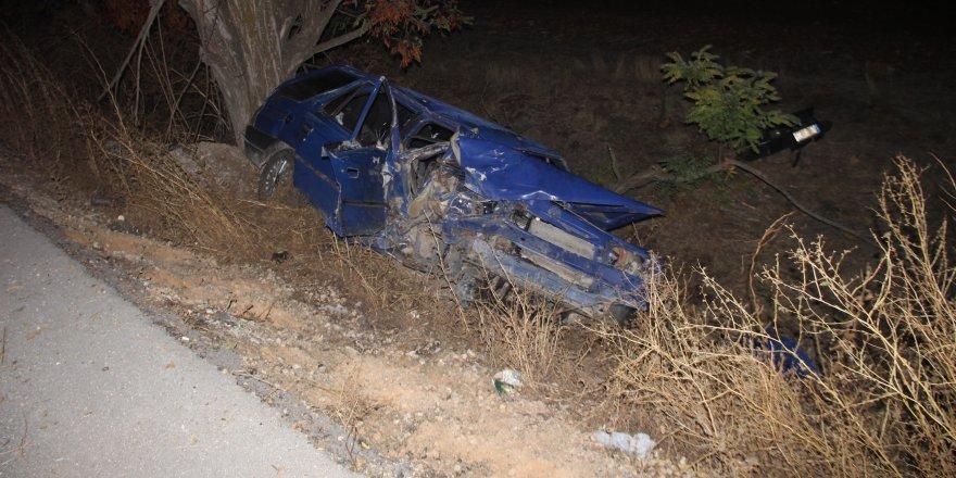 Kazada anne öldü, eşi ve 3 çocuğu yaralandı