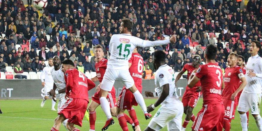 Sivasspor-Atiker Konyaspor: 0-0