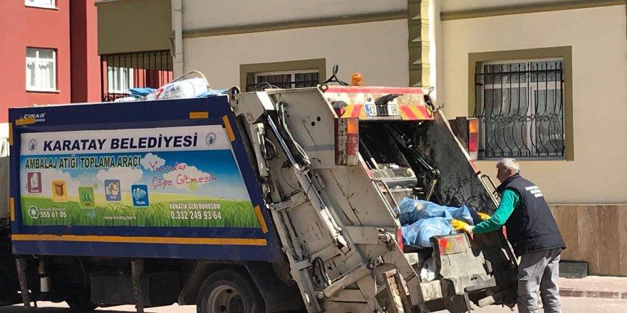 Karatay Belediyesinden 'Sıfır Atık Projesi'ne destek