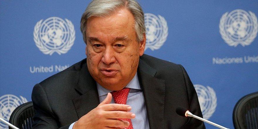 Bm Genel Sekreteri Guterres: Gazze'deki Gerilim Bir An Önce Engellenmeli