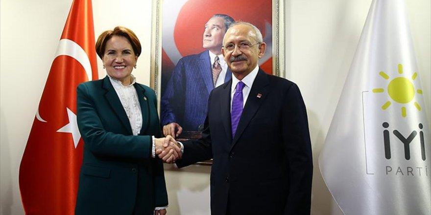 Kılıçdaroğlu, Akşener İle Görüştü