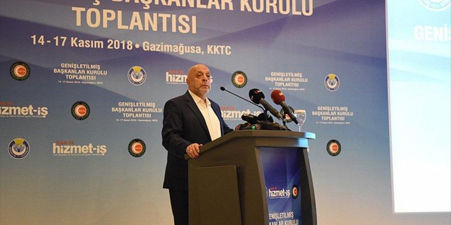 Hak-iş Genel Başkanı Arslan: Kadro Sorununun İvedilikle Çözülmesini İstedik