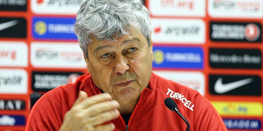 A Milli Futbol Takımı Teknik Direktörü Lucescu: Umuyorum Ki Yarın İyi Bir Sonuç Elde Edeceğiz
