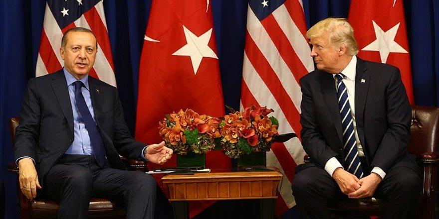 Erdoğan İle Trump Telefonda Görüştü