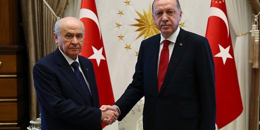 Erdoğan İle Bahçeli Yarın Görüşecek