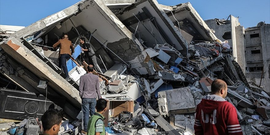 İsrail'in Yıktığı Aksa Televizyonundan Yardım Çağrısı
