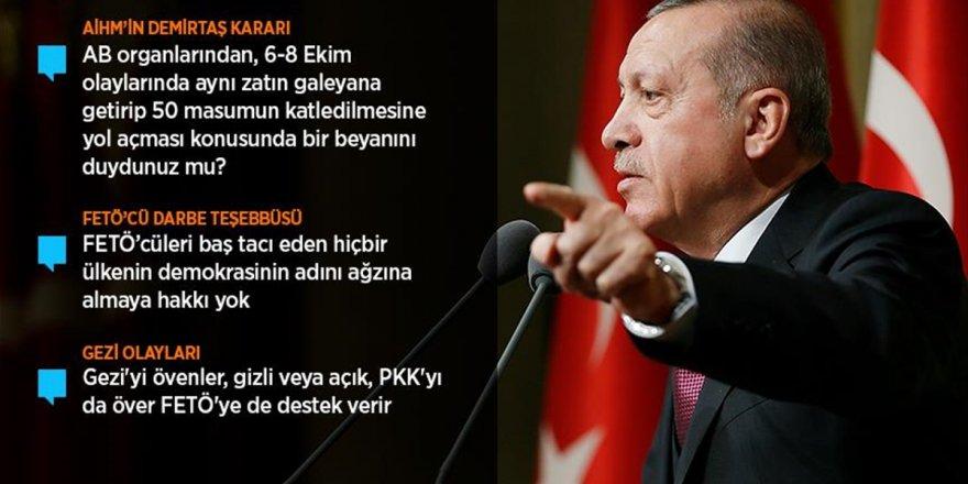 Cumhurbaşkanı Erdoğan: O Çok Sevdiğiniz Teröristler Silahlarını Size Çevirecekler