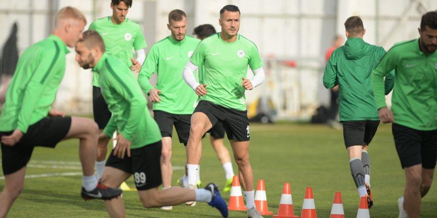 Atiker Konyaspor'da Galatasaray hazırlıkları sürüyor