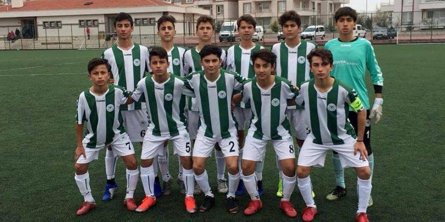 U14 Ligi'nde Konyaspor fırtınası