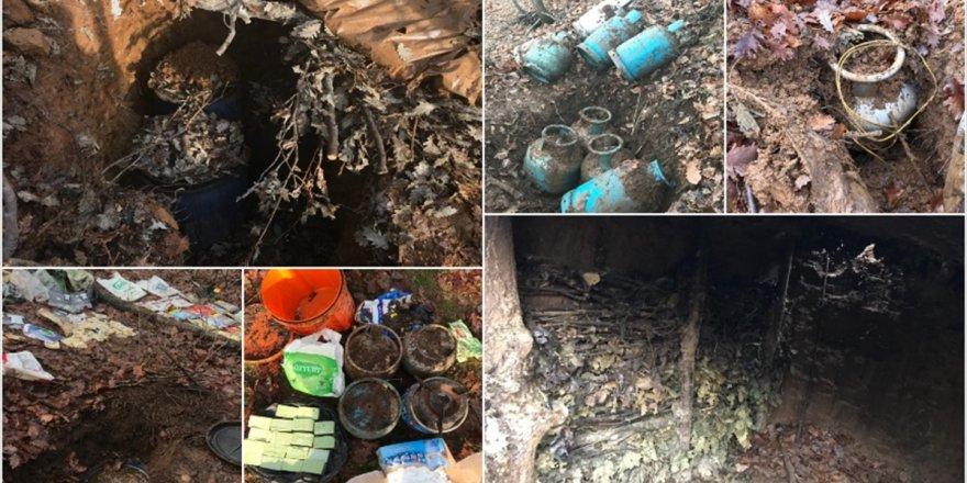 Diyarbakır'da Terör Örgütü Pkk'ya Yönelik Operasyon: 3 Sığınak İmha Edildi