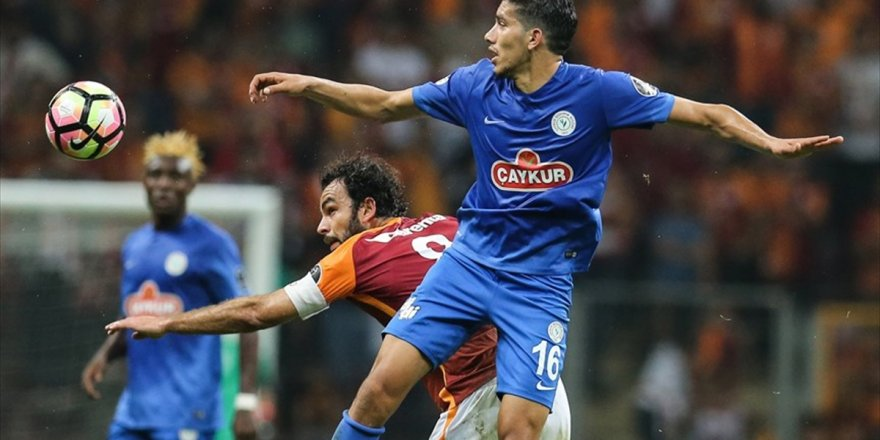 Galatasaray İle Çaykur Rizespor 35. Randevuda