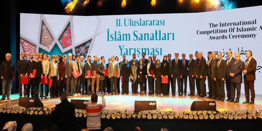 2. Uluslararası İslam Sanatları Yarışması'nın ödülleri verildi