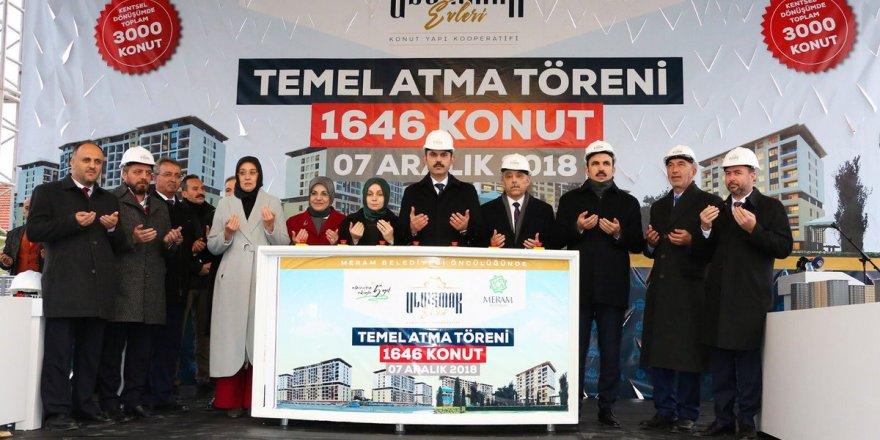 Bakan Murat Kurum'dan Konya'ya 2 müjde
