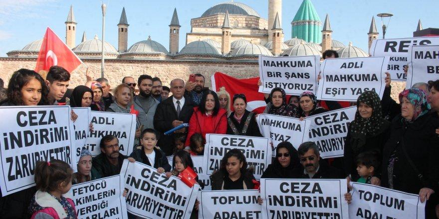 Konya'da mahkum yakınlarının af talebi