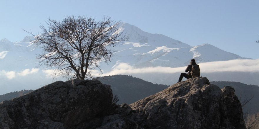 Anamas Dağı'nda sis