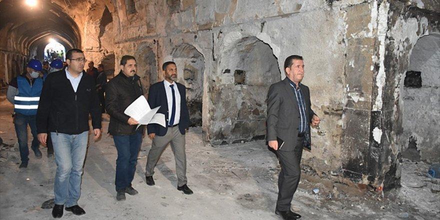 Tika'dan Kerkük'te Yanan Osmanlı Çarşısında Teknik İnceleme