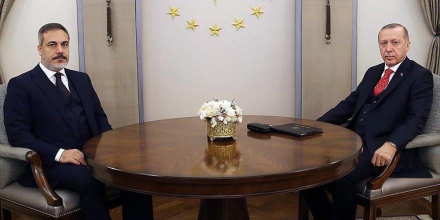 Cumhurbaşkanı Erdoğan Mit Başkanı Fidan'ı Kabul Etti