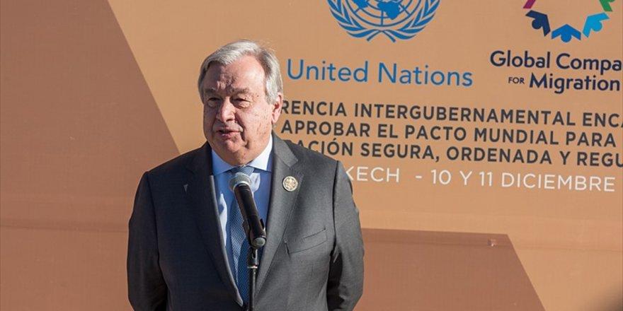 Bm Genel Sekreteri Guterres: İnsan Hakları Dünya Çapında Kuşatma Altında