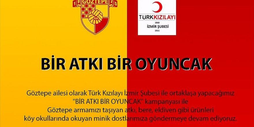 Göztepe'den 'Bir Atkı Bir Oyuncak' Kampanyası