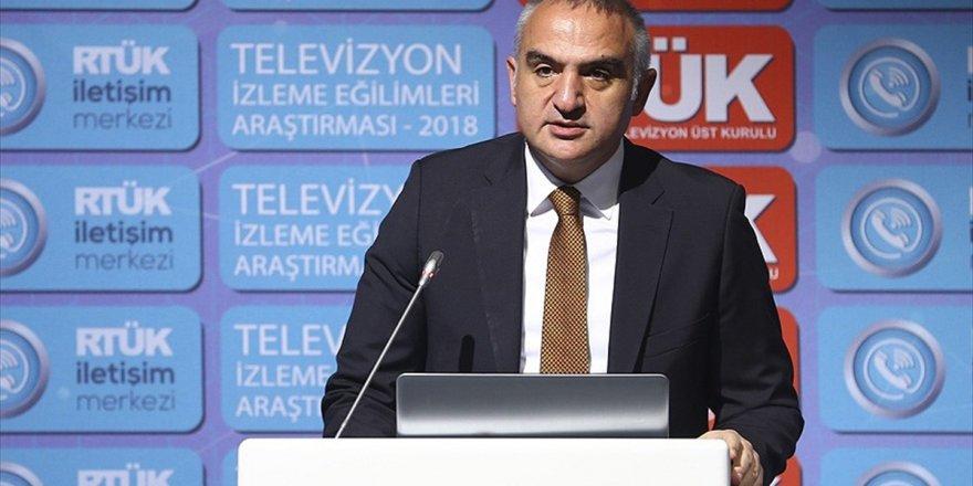 Kültür Ve Turizm Bakanı Ersoy: Türkiye Dizi İhracatında Önemli Bir Mesafe Katetti