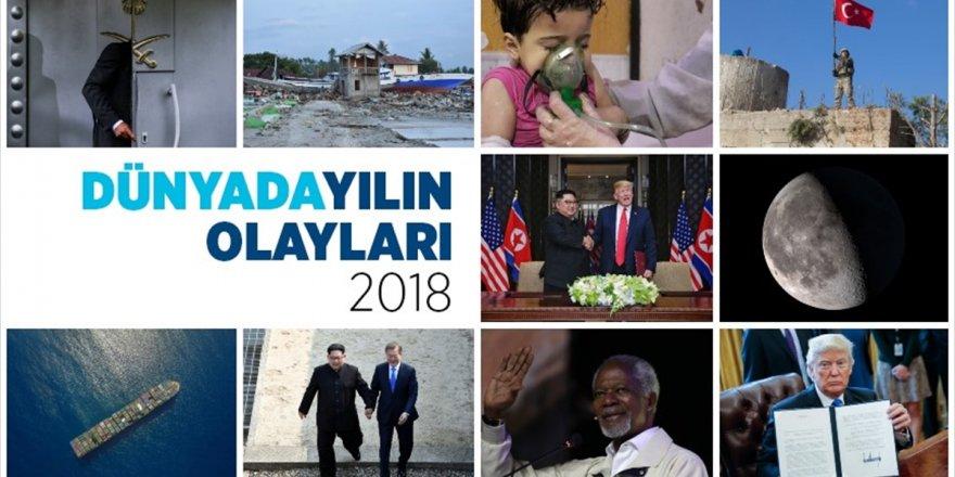 Dünyada 2018 Böyle Geçti