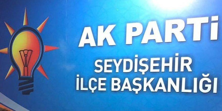 AK Parti Seydişehir'de yeni başkan belli oluyor