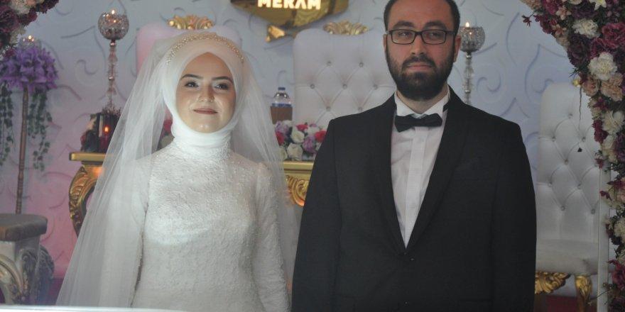 Nurcan ve İsmail Furkan evlendi