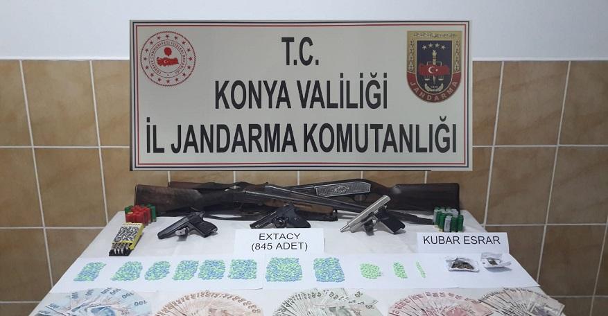 Jandarma'dan uyuşturucu operasyonu: 6 gözaltı