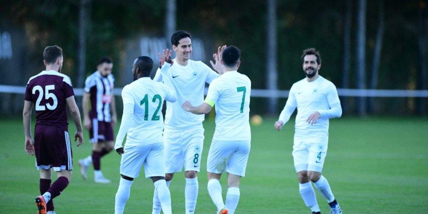 Konyaspor özel maçta güldü