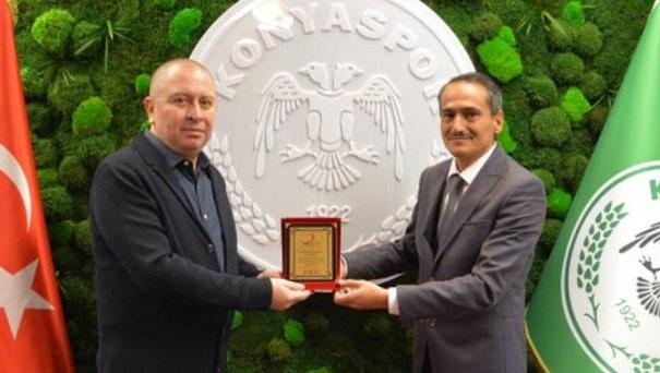 Kızılay'dan Konyaspor'a teşekkür