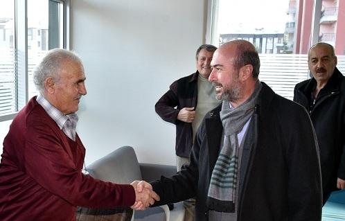 Başkan Pekyatırmacı emeklilerle bir araya geldi