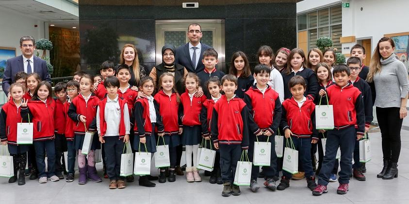 Başkan Toru öğrencilerle buluştu