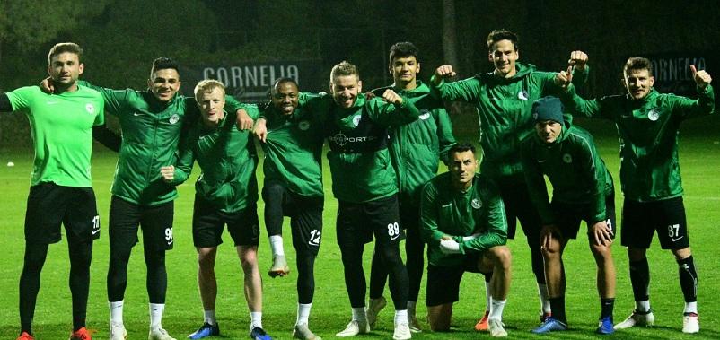 Konyaspor hazırlıklarını sürdürdü
