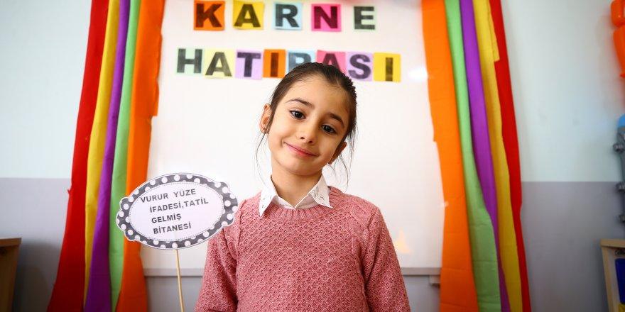 Konya'da 450 bin öğrenci karne heyecanı yaşıyor