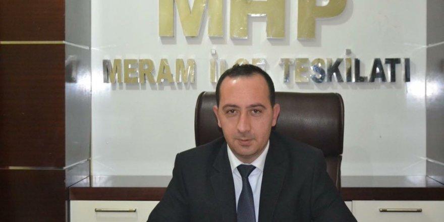 MHP Meram'da belediye başkan adayını geri çekti