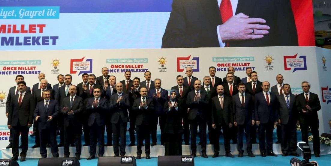 Cumhur İtifakı Konya'da adaylarını tanıttı