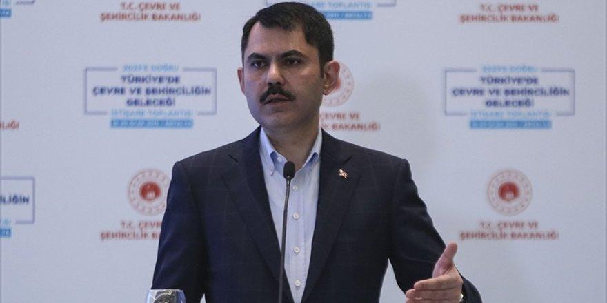 Bakan Kurum: Türkiye Emlak Katılım Bankasının Tekrar Faaliyete Başlaması İçin Çalışıyoruz