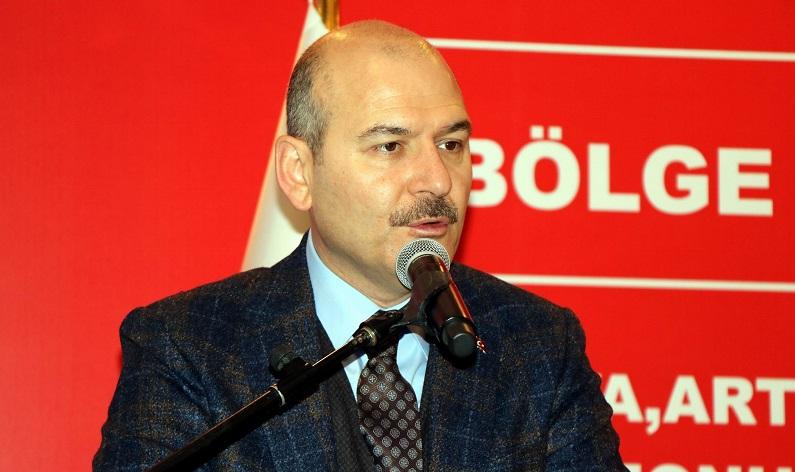 """Bakan Soylu: """"Türkiye seçim meselesini dünyada en iyi gerçekleştiren ülkedir"""""""