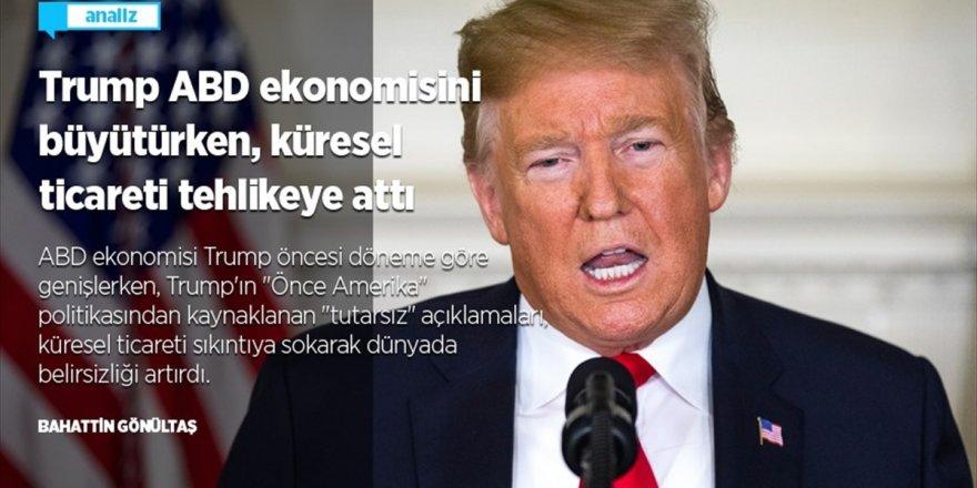 Trump Abd Ekonomisini Büyütürken, Küresel Ticareti Tehlikeye Attı