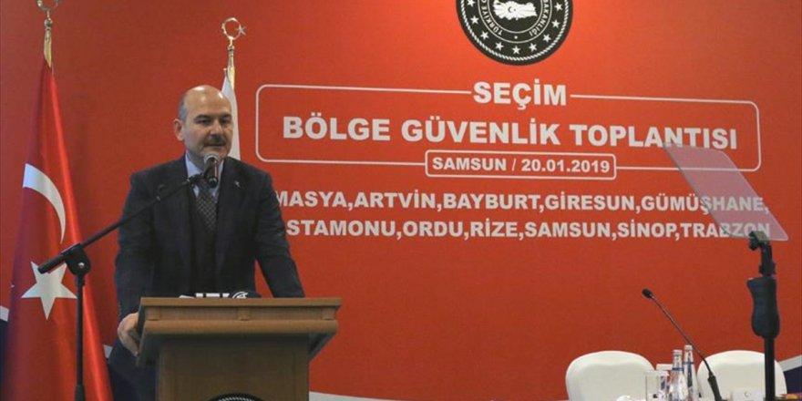 İçişleri Bakanı Soylu: Seçim Sürecinde Belli Güç Merkezleri Pozisyon Almak İstemektedir