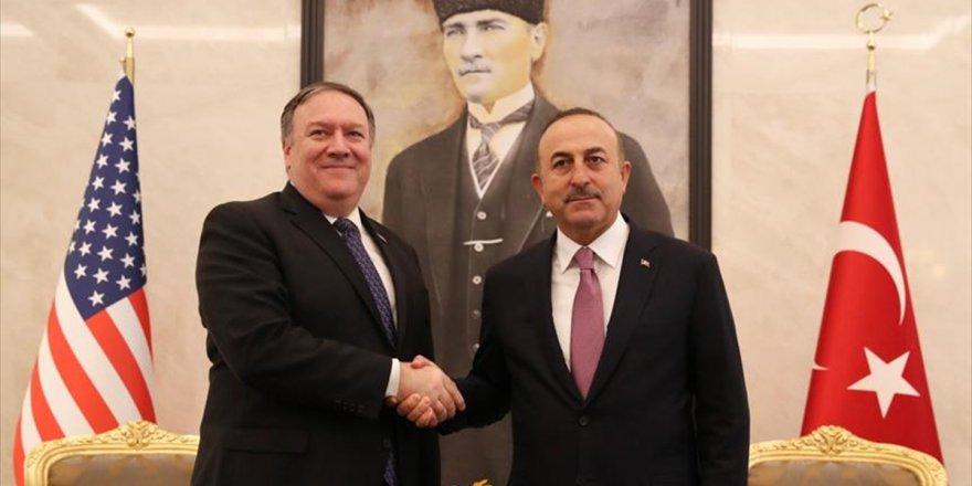Dışişleri Bakanı Çavuşoğlu İle Abd'li Mevkidaşı Pompeo Görüştü