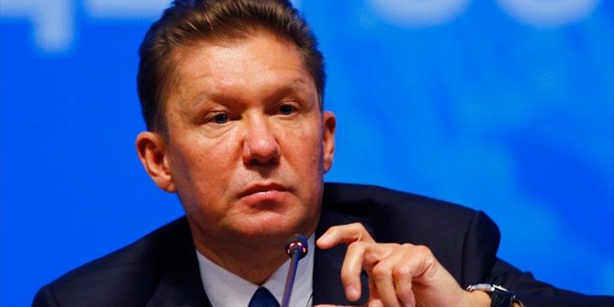 Gazprom Başkanı Miller: Kuzey Akım 2'nin Yüzde 20'si Tamamlandı