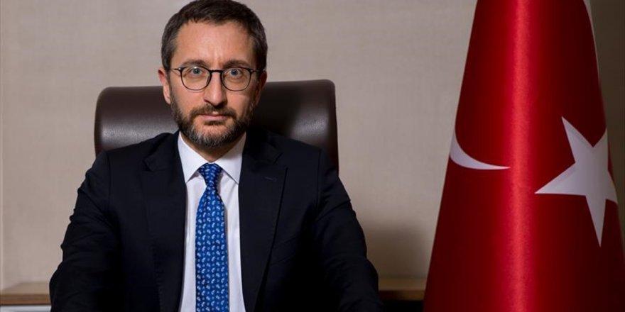 Cumhurbaşkanlığı İletişim Başkanı Altun: Türkiye'nin Önceliği Suriye'nin Toprak Bütünlüğü