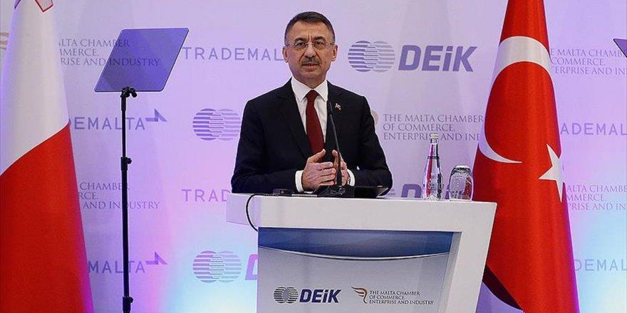 Cumhurbaşkanı Yardımcısı Oktay: Ab'yle Gümrük Birliği'nin Güncellenmesi Türkiye Ve Malta İçin Önemli