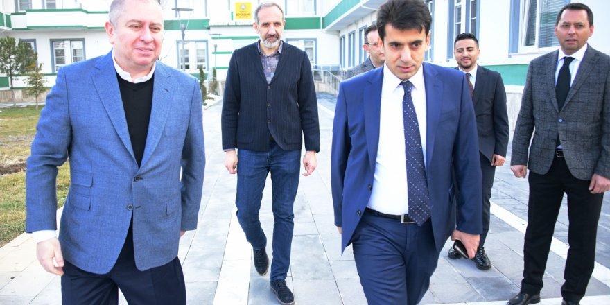 İl Emniyet Müdürü Şükrü Yaman'dan Konyaspor'a ziyaret